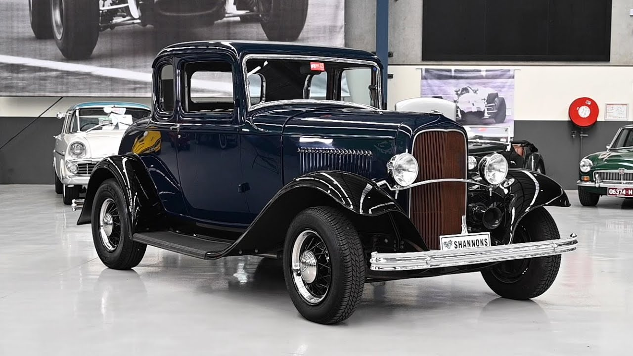 1932 Ford 5 Window Coupe (LHD) - 2019 Shannons Melbourne Summer Classic Auction