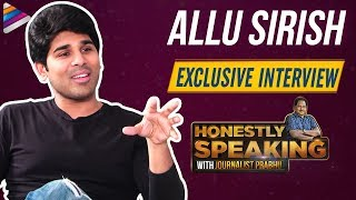 Allu Sirish Interview about ABCD Movie | Honestly Speaking With Journalist Prabhu | Telugu FilmNagar