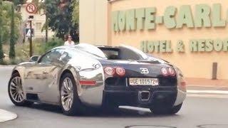 Chasing a Bugatti Veyron Pur Sang in Monaco !