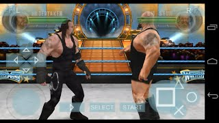 Play wwe all stars on Android using ppsspp emulator
