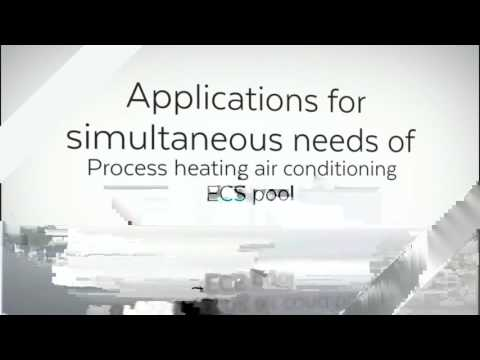 THERMOFRIGOPUMP SDEEC heating and cooling simultaneously