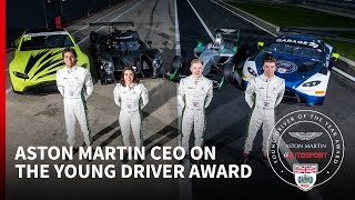 """""""We need to think about the next Lewis Hamilton"""" - Aston Martin CEO Andy Palmer"""
