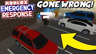 ATM Robbery went HORRIBLY Wrong!! (Emergency Response Roblox)