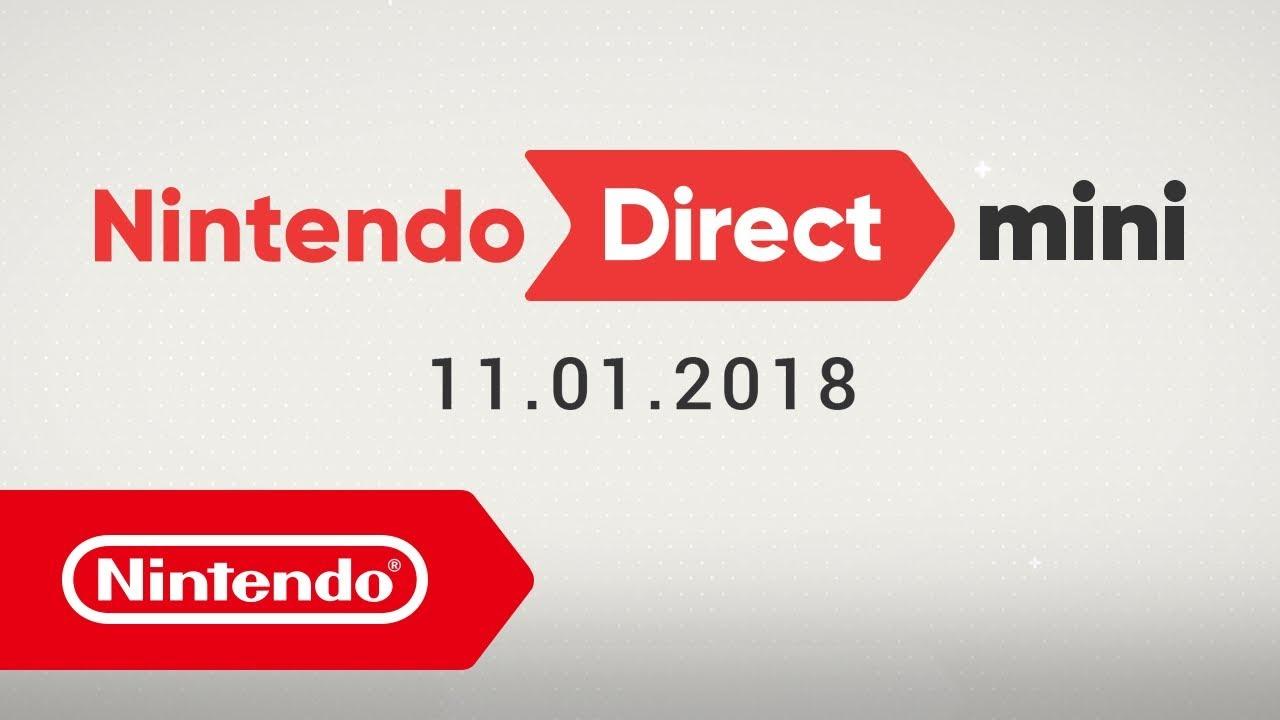 Nintendo Direct Mini: Brandheiße Informationen zu Updates und Ankündigungen  für ausgewählte Spiele, die 2018 für Nintendo Switch erscheinen! | News