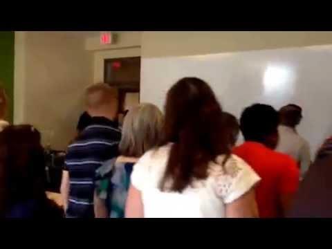 Herron High School Teachers Do the Electric Slide