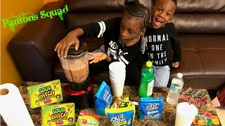 DJ AND YAYA MAKE THE SOUREST DRINK IN THE WORLD CHALLENGE