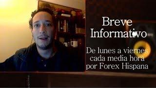 Breve Informativo - Noticias Forex del 19 de Enero 2018