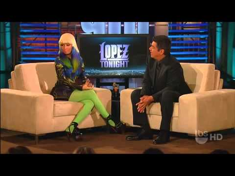 Nicki Minaj on Lopez Tonight (Interview & Performance)