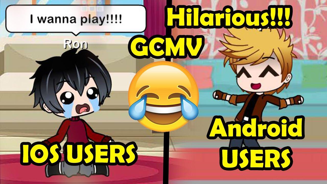 GCMV    Android Users Vs Ios Users   Gacha Club Skit   Gacha Club Meme   GCM   Gacha Club Video  