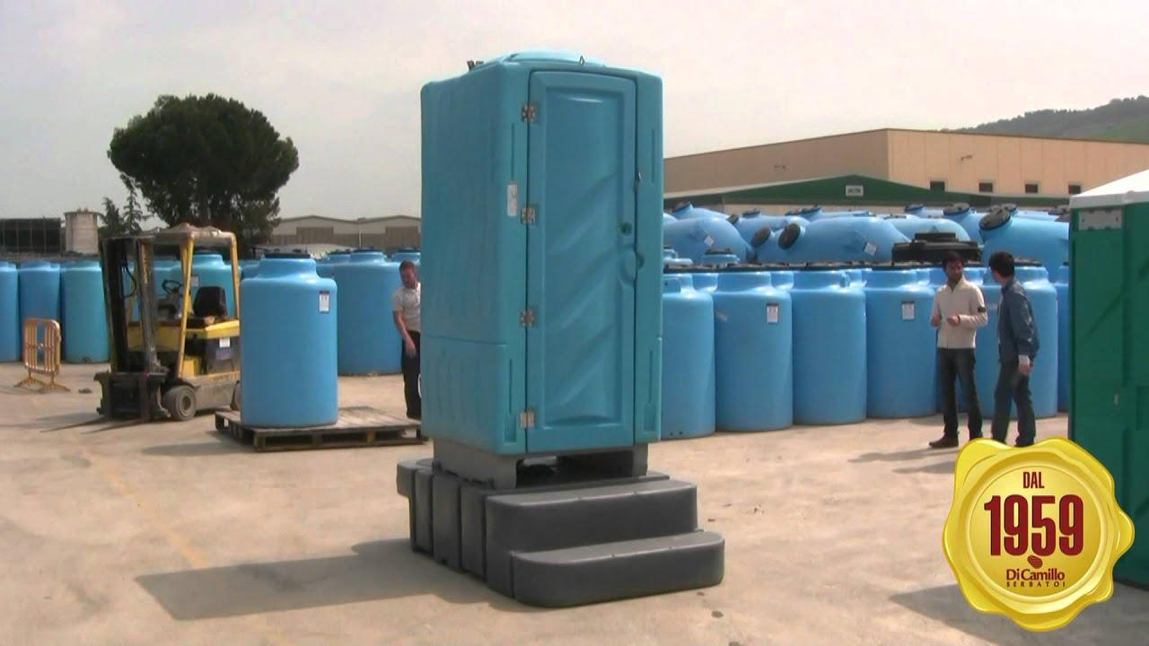Cabina Bagno Chimico : Cabina bagno con turca idraulica e serbatoio isotank bagno chimico
