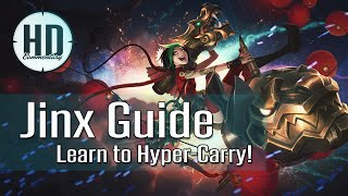 Jinx Guide Season 6 - Learn to Hyper-Carry - Runes, Masteries, Item Build - League of Legends