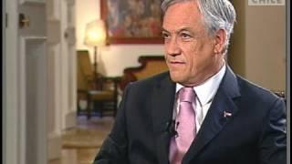 Entrevista al Presidente de la República, Sebastián Piñera