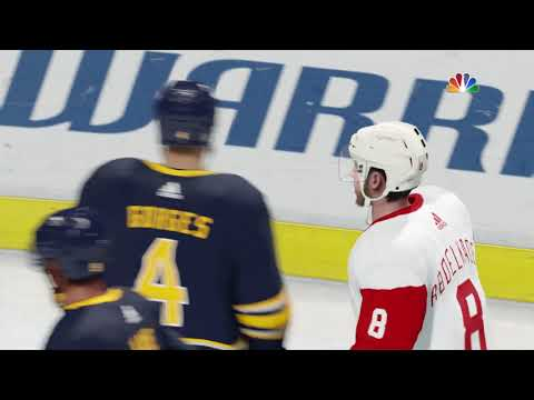 NHL 18 PS4 Season Game  Detroit Red Wings vs Buffalo Sabres 10 24 2017