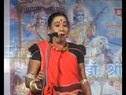 Famous Pandwani Singer Dr. Teejan bai Performing  in Bilaspur by Sahu Samaj chhattisgarh