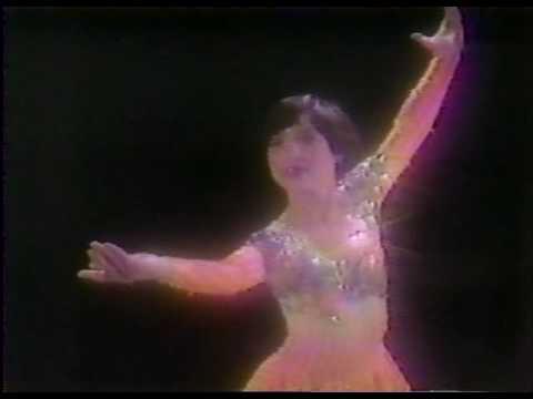 Profile on Tiffany Chin 陳婷婷 - 1985 U.S. Figure Skating Championships, Ladies' Long Program