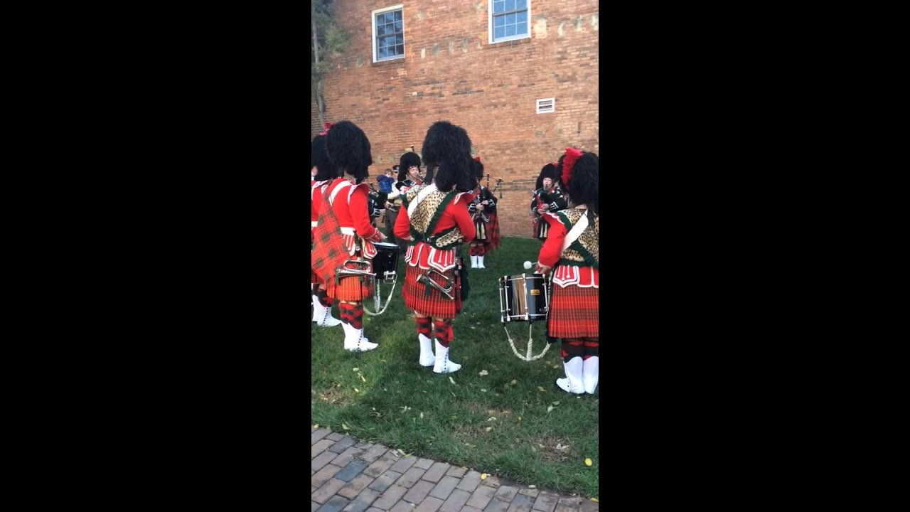 City Of Alexandria Pipes And Drums Christmas Walk 2015