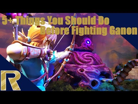 5+ Things You Should Do Before The Final Fight - BOTW