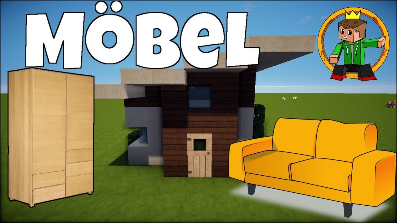 TÜR Minecraft Haus MÖBEL EINRICHTEN German YouTube - Minecraft hauser einrichten deutsch