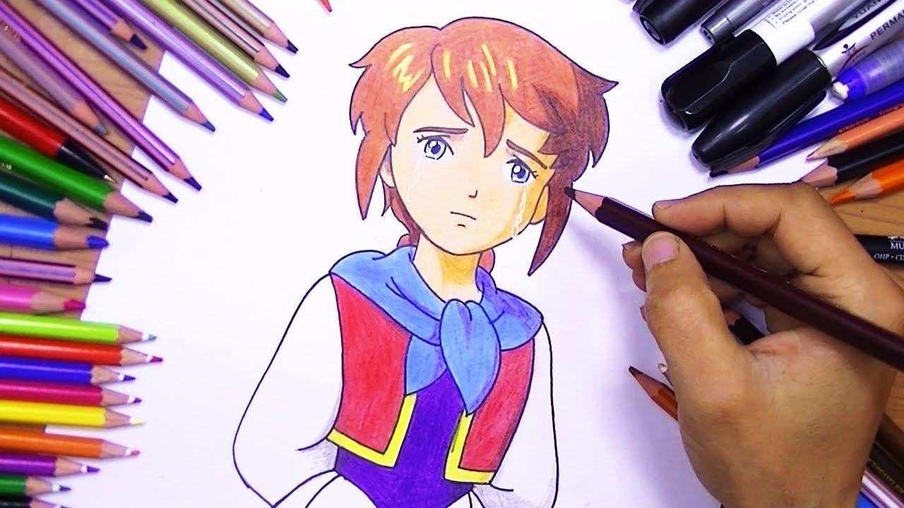 تعلم رسم ريمي انمي دروب ريمي تعلم رسم اني بطريقة سهلة تعليم