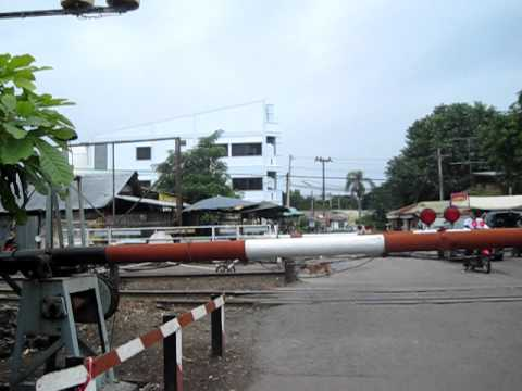 Cement Train Railways buriram thailand.AVI