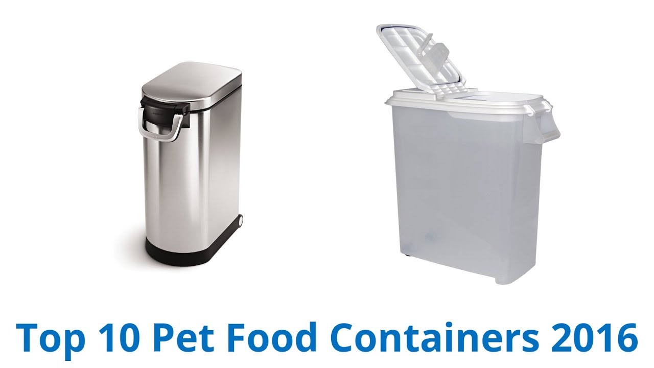10 best pet food containers - Dog Food Containers