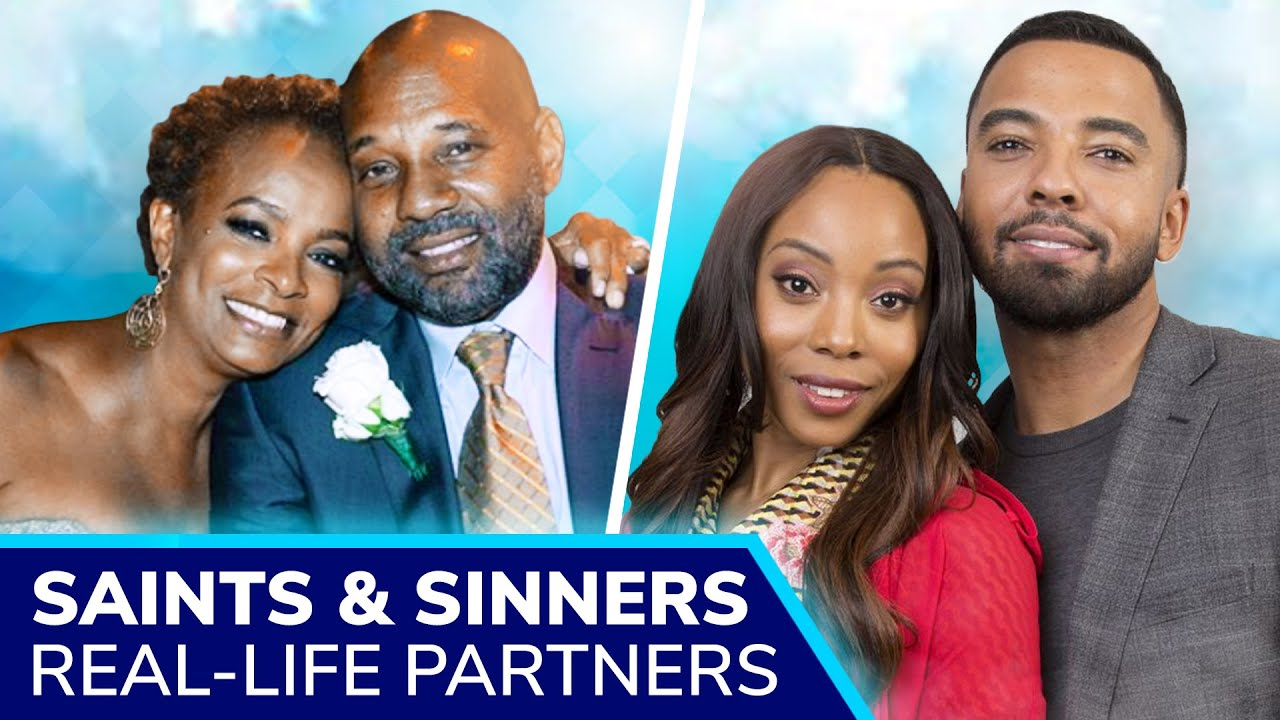 Download SAINTS & SINNERS Real-Life Partners: Vanessa Bell Calloway, Clifton Powell, Jasmine Burke & more