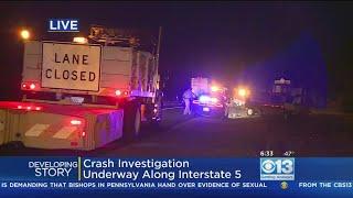 NB I-5 North Of Woodland Closed Due To Wrong-Way Driver Crash