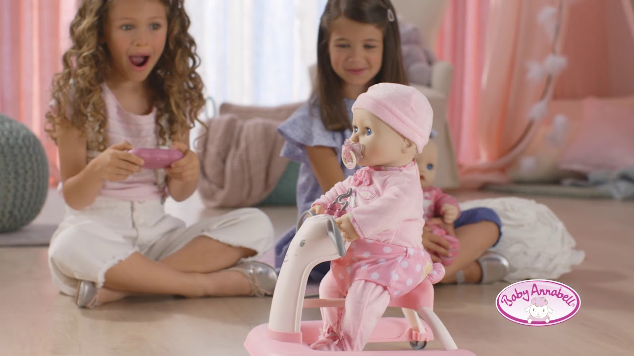 Baby Annabell Baby Walker Youtube
