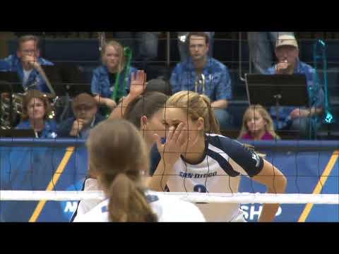 UC Santa Barbara vs San Diego - NCAA Women's Volleyball Tournament 1st Round (Dec 6th 2013)