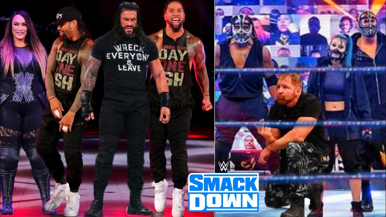 Roman Reigns Samoan Team Destroys Retribution ? Roman Reigns Against Jon Moxley ! WWE SmackDown !