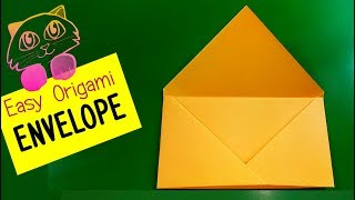 Super easy Origami Envelope Tutorial