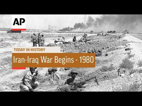 Iran-Iraq War Begins - 1980  | Today in History | 22 Sept 16