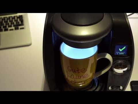 Coffee paid with IOTA