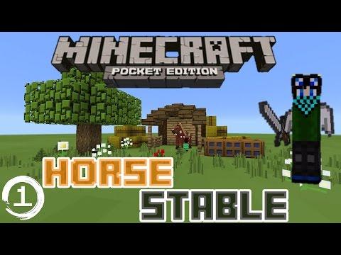 how to get a horse in minecraft pe