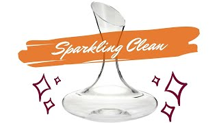 HOW TO CLEAN A WINE DECANTER -…