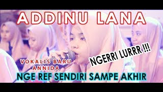 Download Mp3 Addinu Lana Annida Mualimat Kudus Vokalis Baru