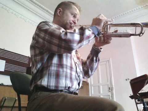Tchaikovsky Children's Album: Spanish song  Trumpet solo
