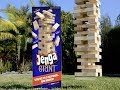 GIANT JENGA BEAN BOOZLED CHALLENGE (LITERALLY THE MOST INTENSE GAME EVER)