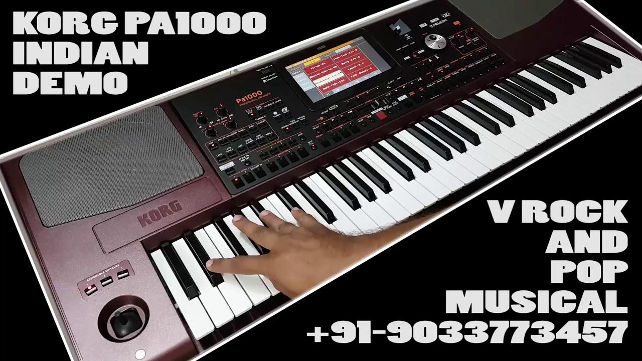 KORG PA1000 INDIAN DEMO STYLES (9033773457)