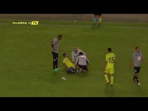 Lesión de Roberto Soldado ante el Deportivo