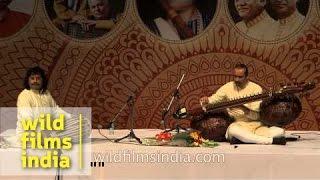 Ustad Bahauddin Dagar performing live with Ravi Shankar Upadhyay