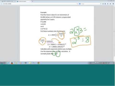Liberty University Math 115 Financial Math