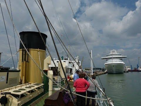 """SS """"Shieldhall"""" cruise around Southampton Docks - 31/05/2014"""