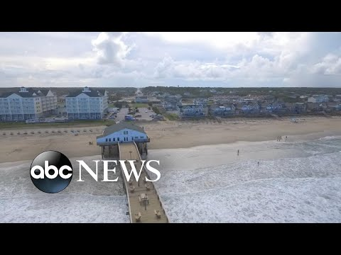 North Carolina's outer banks shut down as Hurricane Florence bears down