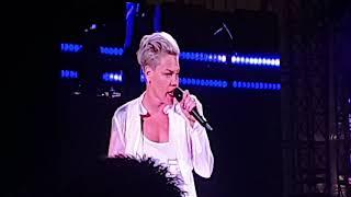 Beelden concert Pink - Malieveld Den Haag 2019