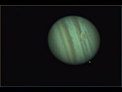 Mighty Jupiter- Through a Telescope with Planetary Filters