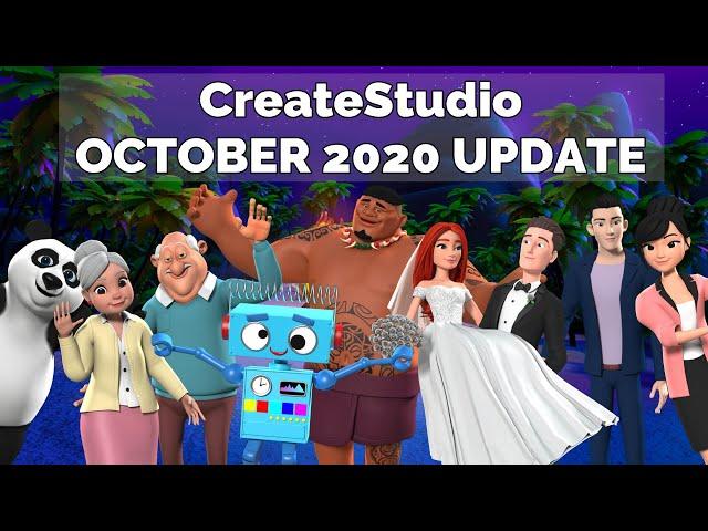 [Full] CreateStudio 1.5.2 October 2020 Update + Templates: What's New Inside?