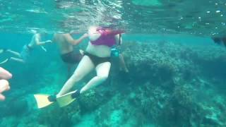 Snorkeling in Belize 01.