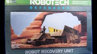 Robot Recovery Unit, Robotech Defenders, 1/72