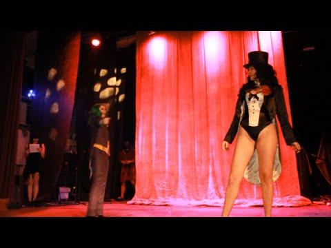 DC Comics: Zatanna Zatara, Lady Joker & Batman at Cosplay Rush 19